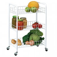 3-shelf Multipurpose Trolley