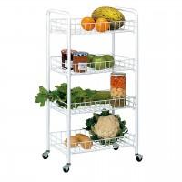4-shelf Multipurpose Trolley