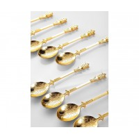 Naim Gold Spoons Set 6 pcs