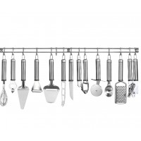 Oliver Kitchen Accessories and Rack Set 13 pcs