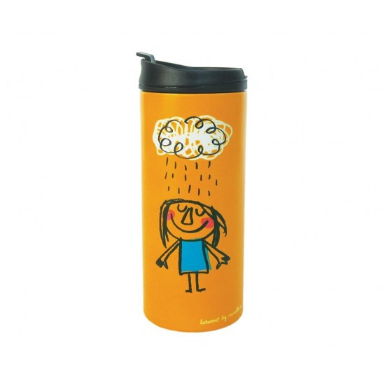 Rainy Orange Thermo Mug 300 ml