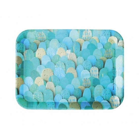 Turquoise Mounts Serving Tray