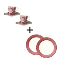 Caffe Club Breakfast Set for Two 6 pcs