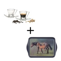 Fusion Myrto Espresso Set + Togetherness Scatter Serving Tray 5 pcs