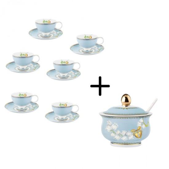 Mughetti Coffee Set 15 pcs