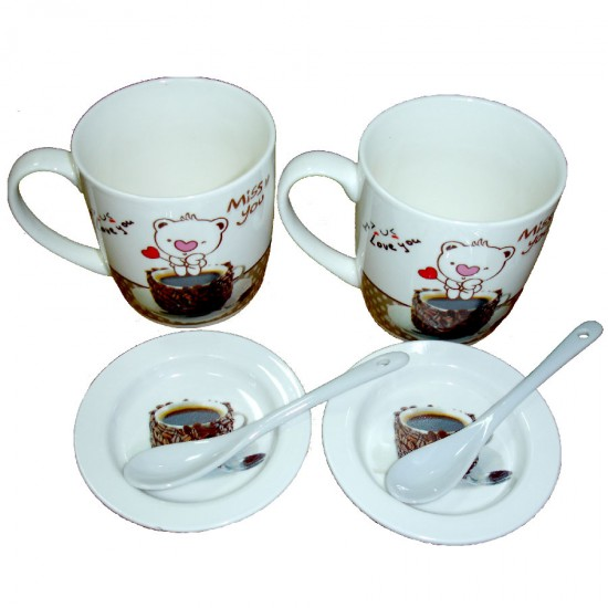 Miss You Cups Set 6pcs