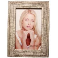 Photo Frame 10x15 cm, Cracked Wood