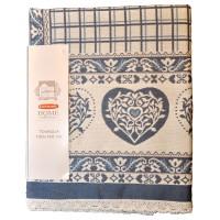 Hearts Table Cloth 150 x 150 cm