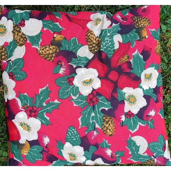 Decorative pillowcase Christmas Mistletoe 43x43 cm