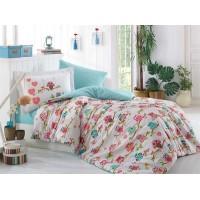 Candy Pink - Poplin Single Bed Linen Set