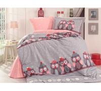 Linda Grey - Poplin Single Bed Linen Set