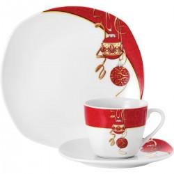 Сервиз за кафе Van Well Coffee Set Magic Christmas, 18 части