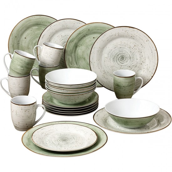 Van Well Porcelain Set, 24 pcs