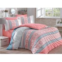 Carla Salmon - Poplin Double Bed Linen Set