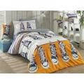 Layla Yellow -Poplin Single Bed Linen Set