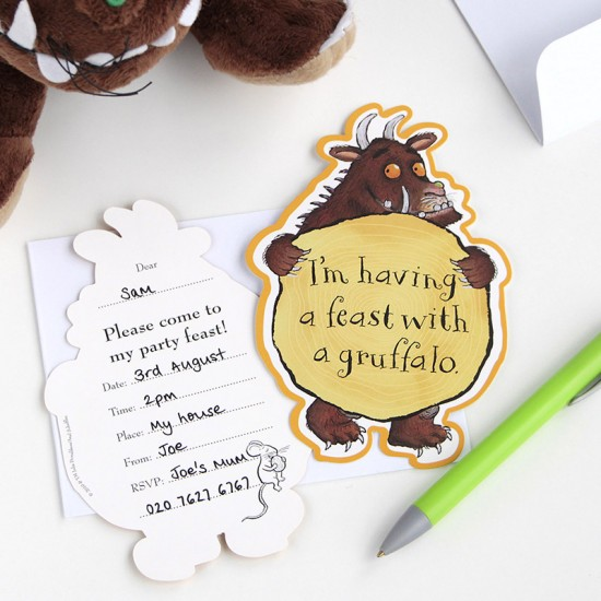 Gruffalo Invite Cards