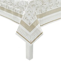 Party Porcelain Gold Table Cover