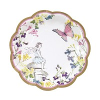 Truly Fairy Paper Plates, 12 pc