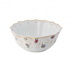 Toy s Delight bowl, anniversary edition, multicoloured/gold/white