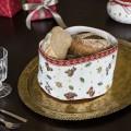 Toy s Delight Gobelin bread basket, red/multicoloured