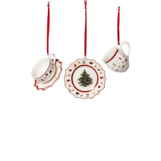 Toy s Delight Decoration Ornaments Tablewareset 3pcs