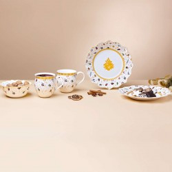 Toy s Delight breakfast set for 2, anniversary edition, 6 pieces