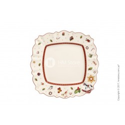 Toy s Delight square dinner plate
