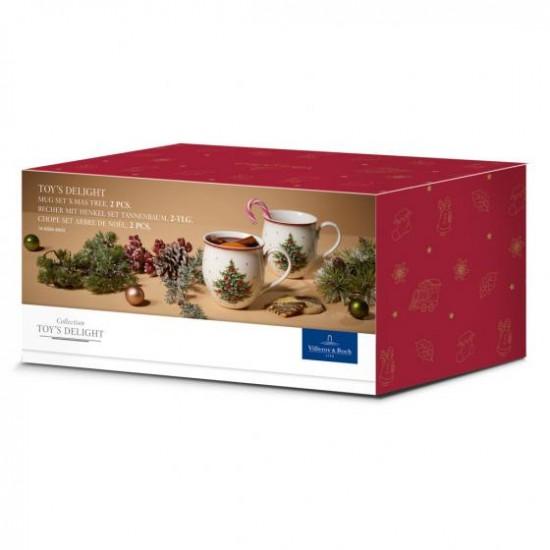 Toy's Delight Mug set 2 pcs Christmas Tree