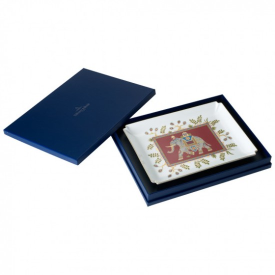 Samarkand Rubin Gifts Decorative Plate 28 x 21 cm