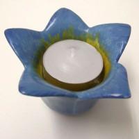 Spring Awakening Tea Light Holder Bluebell