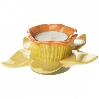 Spring Awakening Tea Light Holder Daffodil