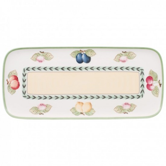 Charm & Breakfast French Garden Sandwich plate 35x16cm