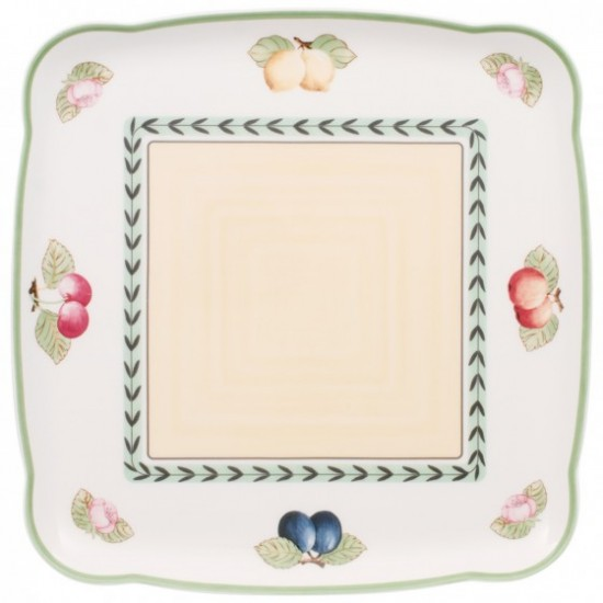 Charm & Breakfast French Garden Square platter 30cm