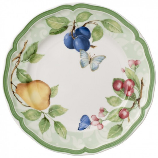 French Garden Beaulieu breakfast plate