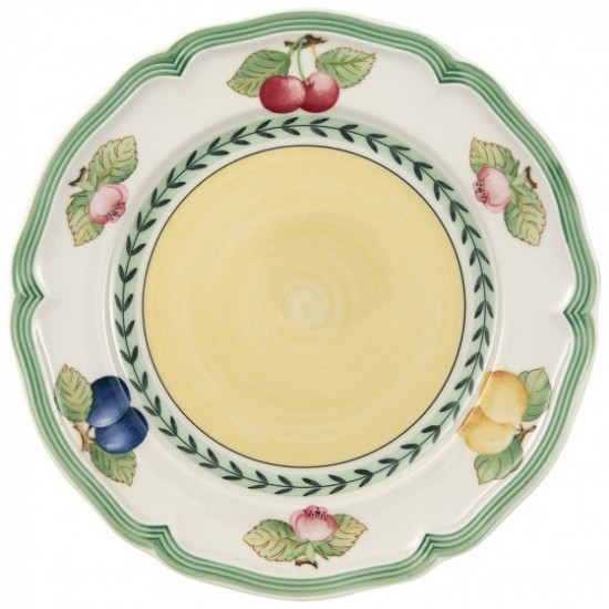 French Garden Fleurence breakfast plate