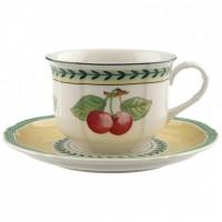 French Garden Fleurence cappuccino set 2 pieces