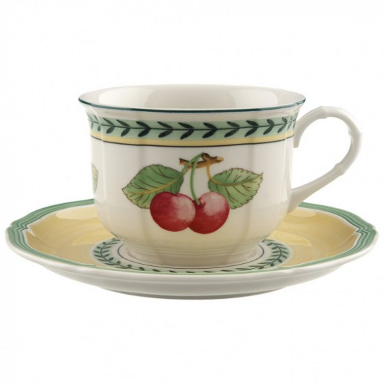 French Garden Fleurence cappuccino set 2 pieces