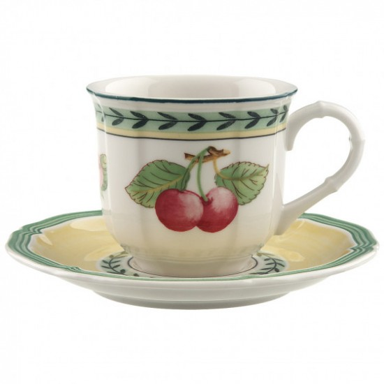 French Garden Fleurence espresso set 2 pieces