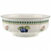 French Garden Fleurence round salad bowl 250 mm