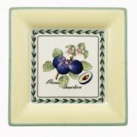 French Garden Macon square breakfast plate 21 cm