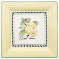 French Garden Macon square dinner plate 27 cm