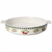 French Garden Round Baking Dish 28 cm