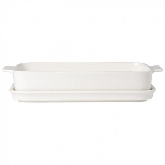 Rectangular Clever Cooking Baking Dish With Lid 30x20 cm