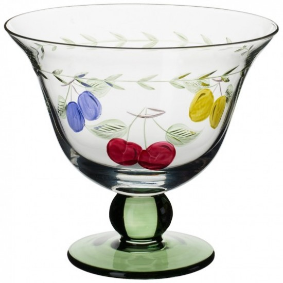 French Garden Accessories Footed Bowl Set 4  pcs