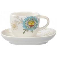 Helianthos Mokka/Espresso Cup and Saucer