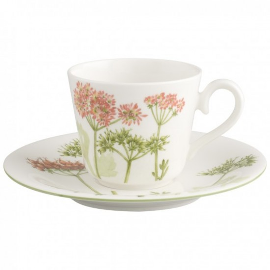 Althea Nova Coffee/Tea Cup with Saucer
