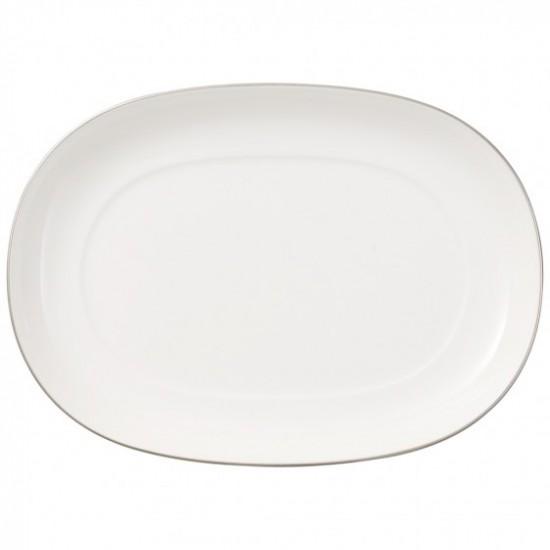 Anmut Platinum No.1 Sauceboat Saucer 20 cm