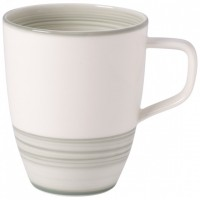 Artesano Nature Vert Tea/Coffee Mug with Handle 380 ml
