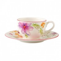 Mariefleur Basic Cappuccino Cup & Saucer