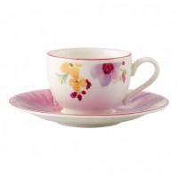 Mariefleur Basic Mokka/Espresso Cup & Saucer